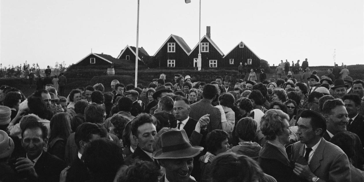 Jónsmessa í Árbæ 1962