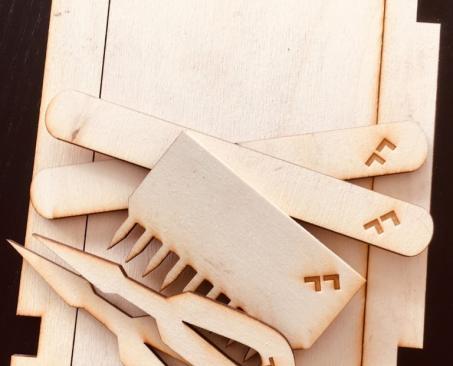 Vefnaðartól, (e. weaving tools)
